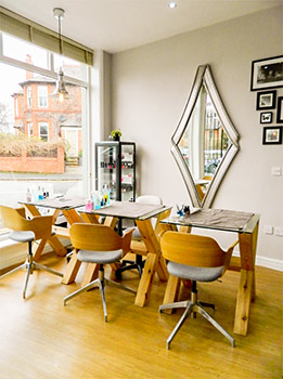 Manicures and Pedicures Salon at District Hair and Beauty in Hale